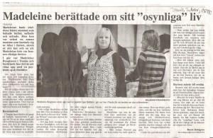 Tranås tidning 10 april 2008